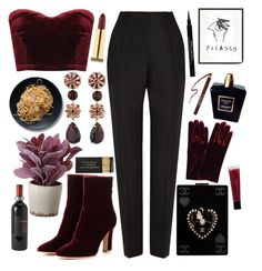 """""""Dance of beauty and femininity"""" by anna-modestovna ❤ liked on Polyvore featuring Balenciaga, Kate Spade, Torre & Tagus, Chanel, philosophy, Forever 21, Gianvito Rossi, Kevyn Aucoin, Givenchy and Jayson Home"""