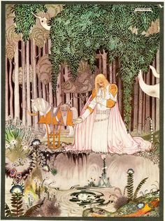 <East of the Sun and West of the Moon> Illustrated by Kay Nielsen.
