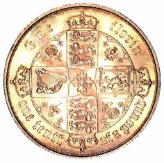 """Two shilling coin Victoria """"Gothic"""" Florin 1853 - Sterling Silver Great Britain Coin. Renaissance Jewelry, Ancient Jewelry, English Coins, Gothic Crown, Coin Store, Antique Coins, World Coins, Coin Collecting, Silver Coins"""