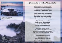 Wanneer ik in de verte het kruis ziet staan. Meer gedichten, quotes en kleurplaten op www.dichter-bij.nl