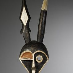 Eastern « Pende » mask from Congo ex: Belgian's collection | Virtual Tribal and Textile Art Shows French Collection, Congo, African Art, Textile Art, Art Gallery, Statue, Antiques, Antiquities
