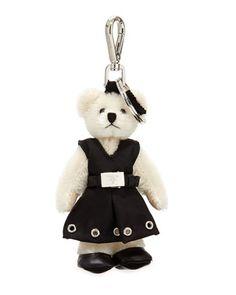 Prada Teddy Bear Key Chains | Key Chains, Teddy Bears and Prada