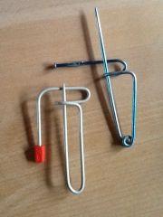 Asvan nåle - ville jeg kalde dem - ejeren kan garanteret gætte hvordan navnet er opstået - hun er nemlig kvik! :)