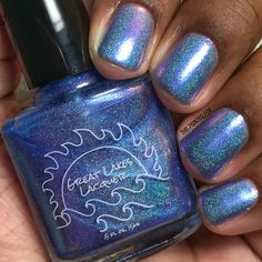 Great Lakes Lacquer Time Is A Face On The Water    The Painted Fox Diaries Great Lakes, Diaries, My Nails, Swatch, Indie, Nail Designs, Fox, Nail Polish, Notes