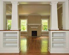Craftsman/bungalow style interior-love