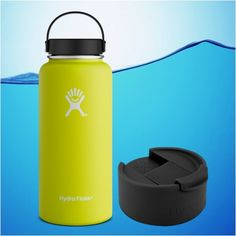 Water Gear Alert !!! Now available - Hydro Flask 32 Oz... @ http://www.watercheck.biz/products/hydro-flask-32-oz-insulated-stainless-steel-water-bottle-citron-yellow-with-flex-cap-flip-cap?utm_campaign=social_autopilot&utm_source=pin&utm_medium=pin