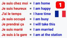 French Language Basics, French Basics, French Language Lessons, French Language Learning, French Lessons, Learn French Fast, Learn French Beginner, How To Speak French, French Words Quotes