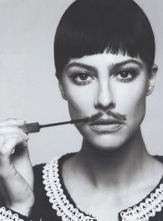 Anna Mouglalis photographed by Cédric Buchet in 10 Magazine - via @kennymilano  #trendy