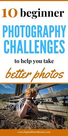 10 Creative Photography Challenges for Beginners