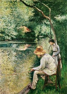 Gustave Caillebotte-Angling