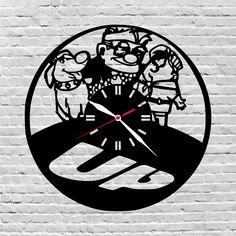 29$ wooden wall clock #Up, #Disneyup, #Birthdaygiftideas, #Disney, #Nurserydisney, #Kidsroomdisney, #Upmovie, #Disneypixar, #Upmoviegifts, #Disneyupgifts, #Playroomdisney  by lovelygift4you on Etsy