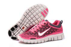 pink shoes -nike free