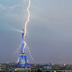 Eiffel power by Bertrand Kulik on 500px