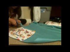 DIY:How to Make a Snuggle Sack - YouTube