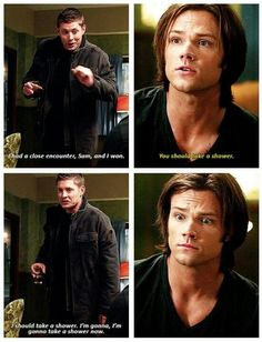 Meanwhile After Dean's Encounter With The Fairies ~Supernatural