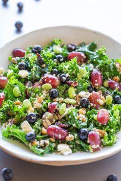 12 Superfood Salad (Healthy Salad Recipe!) - Averie Cooks