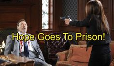 'Days of Our Lives' Spoilers: Hope Goes To Prison After Aiden Solves Stefano Murder Case - Justice At Last?