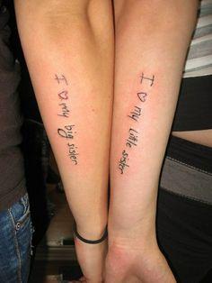 Heather??? Lol 25+sister+tattoos+-+cute-tattoo.com