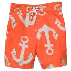 Anchor Print Swim Trunks | Toddler Boy Swimwear If Baby J is a he