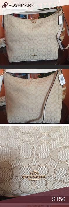 Coach starched crossbody bag 💼 Nice elegant bag Coach Bags Crossbody Bags