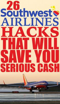 25 Southwest Airlines Hacks That Will Save You Serious Cash A password will be e-mailed to you. 25 Southwest Airlines Hacks That Will Save You Serious Southwest Airlines Hacks That Will Save Air Travel Tips, Cheap Travel, Budget Travel, Travel Hacks, Travel Ideas, Travel Info, Travel Essentials, Travel Guide, Travel Stuff