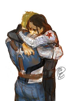 my heart has shattered. Hope to see Bucky & Steve bonding in Age of Ultron? Probably not, but one can hope.