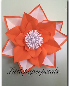 """47 Likes, 3 Comments - Sylvia Q (@littlepaperpetals) on Instagram: """"It's just an Orange Crush Kinda Day! For Inquiries: 📧 email Littlepaperpetals@hotmail.com or…"""""""