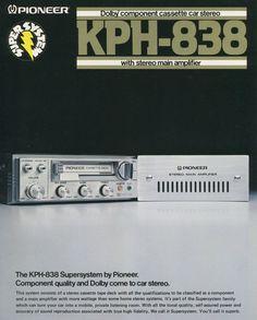 Radios, Pioneer Car Stereo, Audio Equipment, Car Audio, Sony, Barrel, Projects, Vintage, Audio System