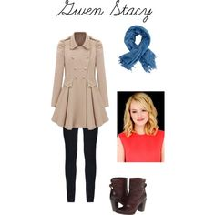 Gwen Stacy outfit from Spiderman 2