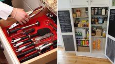 Kitchen Storage And Organization Hacks