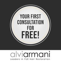 """"""""""" Free Consultation """""""" Get in touch with Alvi Armani – India and book a completely free and no-obligation consultation to learn more about the hair transplant procedures best suited to you. Call us at to schedule your free consultation today! Hair Transplant In India, Hair Restoration, Hair Loss Treatment, Free, Schedule, Books, Touch, Timeline, Libros"""
