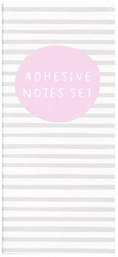 Kikki.k Sticky Note Set - Grey  back to school shopping || memo || ad || office supplies || girl boss || lady boss || office accessories || office accents