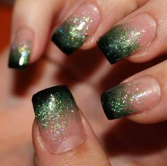 Get ready for some manicure magic as we bring you the hottest nail designs from celebrities,beauty brands.So get creative with these lovely manicure ideas. Green Nails, Black Nails, Prom Nails, Wedding Nails, Holiday Nails, Christmas Nails, Nail Manicure, Nail Polish, Manicure Ideas