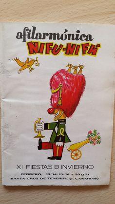 Cancionero Nifú nifá año 1971. Carnaval de Santa Cruz de Tenerife