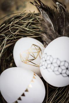 Easter Egg, tattoed Eastereggs I Ostern, Osterei, tätowierte Eier | DIY by http://titatoni.blogspot.de/