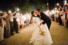 Romantic Wedding Kiss Photography