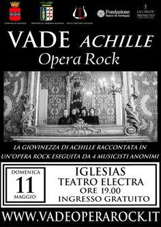 Iglesias, Teatro Electra -11 Maggio ore 19.00