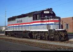 (GP40-2).  AMTRAK #653.  EMD GP40-2. Acquired 1984-1991.  Acquired through Helms leasing.  Returned to Helms leasing. In service 1991-93.