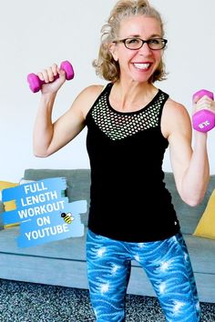 Grab your lightest DUMBBELLS, Killer Bs, because today's workout is all about that CARDIO TONING! We're getting our heart rate up while carrying weights! Workout List, Toning Workouts, Dumbbell Workout, Workout Challenge, Exercises, Weight Loss For Women, Weight Loss Tips, Walking Exercise