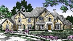 Five Bedrooms and a Motor Court - 15407HN | European, French Country, Traditional, Luxury, 1st Floor Master Suite, Butler Walk-in Pantry, Den-Office-Library-Study, In-Law Suite, Media-Game-Home Theater, Multi Stairs to 2nd Floor, PDF | Architectural Designs