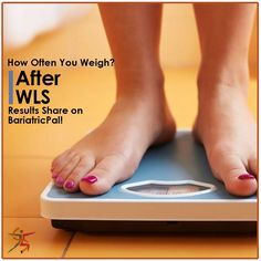 How often do you weigh in after #WLS and how does each result make you feel? Share on @BariatricPal!