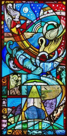 The Finola Window | Roaringwater Journal Second Crusade, Saint Bonaventure, St Brendan, Irish Rock, Irish Mythology, John The Evangelist, Great Works Of Art, Crown Of Thorns, Irish Art