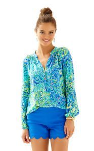 FINAL SALE - Elsa Top - Lilly's Lagoon