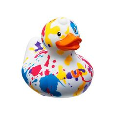 Many people take a bath or collect rubber duckies. No need to settle on the plain, old and boring yellow duck. Here are a few designer rubber duckies that are pretty neat! Rubber Ducky Bathroom, Ducky Duck, Cool Shower Curtains, Quack Quack, Celebrity Big Brother, Carousel Horses, Duck Dynasty, Jim Henson, Diy Arts And Crafts