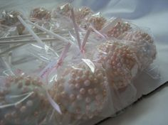 Baptism Cake Pops - etsy by TheSweetSource