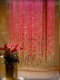 Saving this for a character design. Memories of a Butterfly - design in Beads - Bead Curtains & Screens - Design Stories Social Network Beaded Curtains, Window Curtains, Crystal Curtains, Bohemian Curtains, Gold Curtains, Shower Curtains, Porta Diy, Rose Fushia, Pink