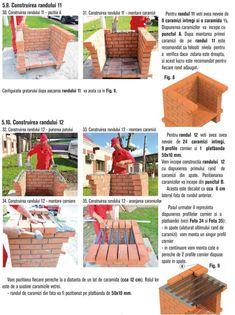 Cum se construieste un gratar din caramida? Bbq Grill Diy, Stone Bbq, Outdoor Barbeque, Brick Construction, Home Decor, Photos, House, Houses, Brick Bbq