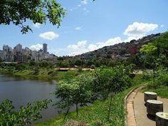 Parque da Barragem Santa Lúcia, BH.