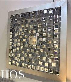 Gatsby Mirror Silver Tile Wall Art - Mirrored furniture - Sparkle Diamond - House of Sparkles Mirror Wall Art, Mirror Tiles, Interior Styling, Interior Decorating, Interior Design, Mirrored Furniture, Commercial Architecture, Home Accessories, Photo Wall