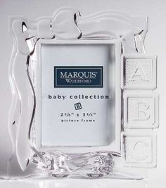 Charming Waterford Crystal Baby Shoe Bootie Paperweight